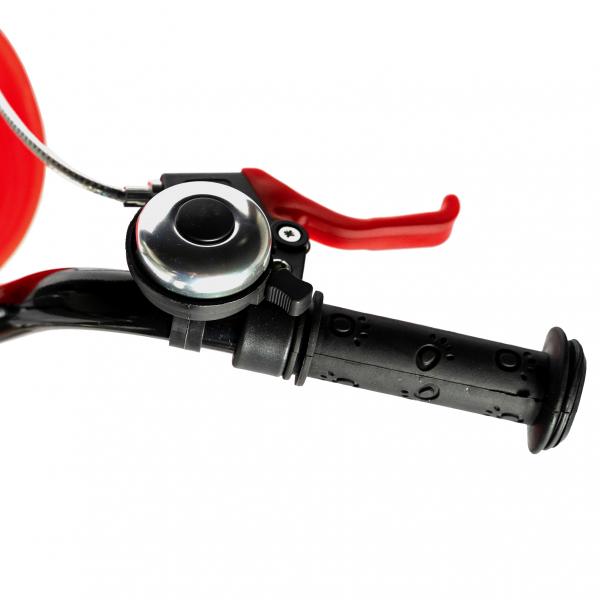 """Bicicleta baieti RICH BABY R20WTB, roata 20"""", 7-10 ani, culoare negru/rosu 7"""