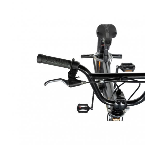"""Bicicleta BMX 20"""" VELORS V2016A, culoare negru/portocaliu 6"""