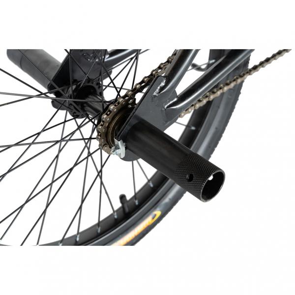 """Bicicleta BMX 20"""" VELORS V2016A, culoare negru/portocaliu 4"""