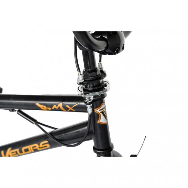 """Bicicleta BMX 20"""" VELORS V2016A, culoare negru/portocaliu 9"""