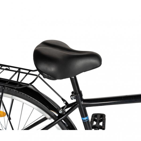 """Bicicleta CITY 28"""" Rich Exquisite R2891A, culoare negru/albastru 2"""