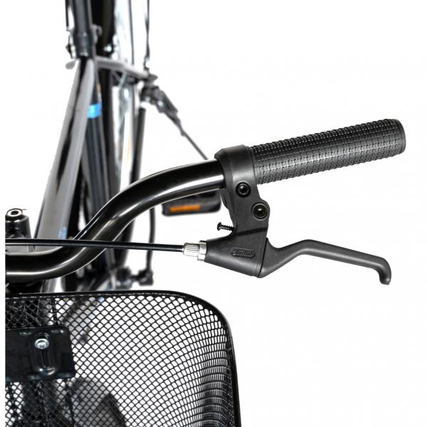 """Bicicleta CITY 28"""" Rich Exquisite R2891A, culoare negru/albastru 10"""