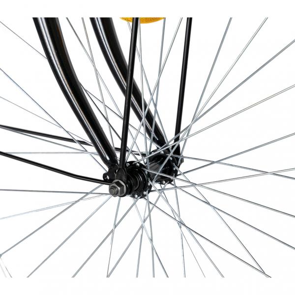 """Bicicleta CITY 28"""" Rich Exquisite R2891A, culoare negru/albastru 9"""