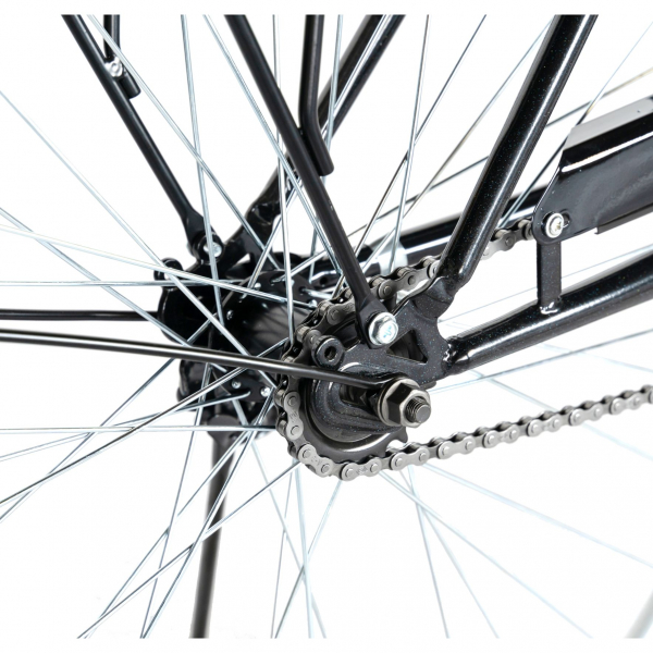 """Bicicleta CITY 28"""" Rich Exquisite R2891A, culoare negru/albastru 4"""