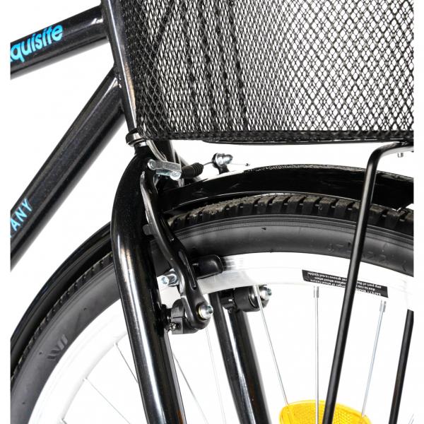 """Bicicleta CITY 28"""" Rich Exquisite R2891A, culoare negru/albastru 7"""