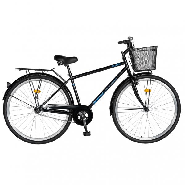 """Bicicleta CITY 28"""" Rich Exquisite R2891A, culoare negru/albastru 0"""