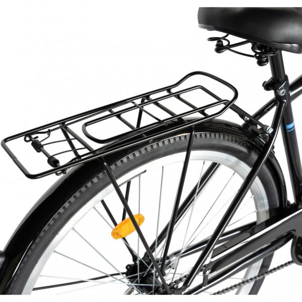 """Bicicleta CITY 28"""" Rich Exquisite R2891A, culoare negru/albastru 3"""