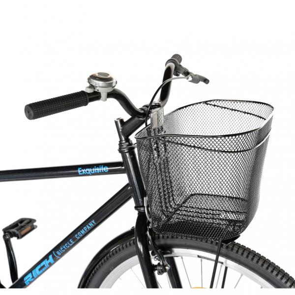 """Bicicleta CITY 28"""" Rich Exquisite R2891A, culoare negru/albastru 8"""
