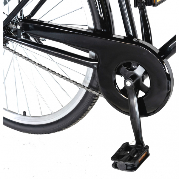 """Bicicleta CITY 28"""" Rich Exquisite R2891A, culoare negru/albastru 5"""