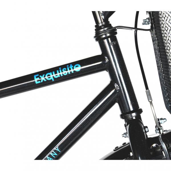 """Bicicleta CITY 28"""" Rich Exquisite R2891A, culoare negru/albastru 6"""