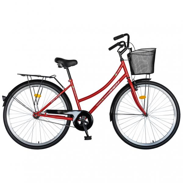 """Bicicleta CITY 28"""" RICH R2892A, culoare rosu/alb [0]"""