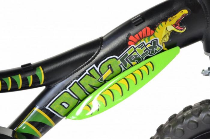 Bicicleta copii 12'' Dinozaur T-Rex [5]