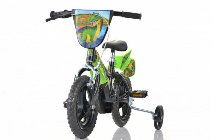 Bicicleta copii 12'' Dinozaur T-Rex [2]