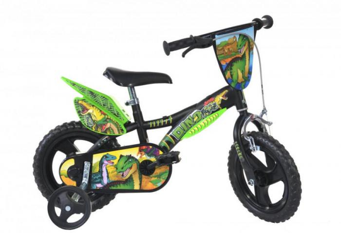 Bicicleta copii 12'' Dinozaur T-Rex [0]