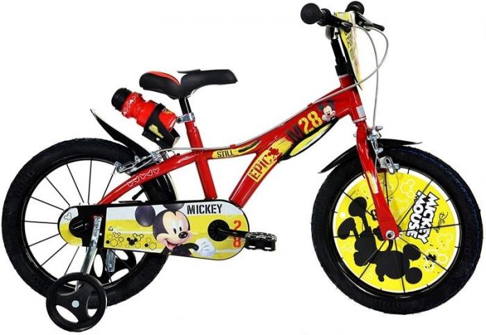 Bicicleta copii 14'' - MICKEY MOUSE [0]