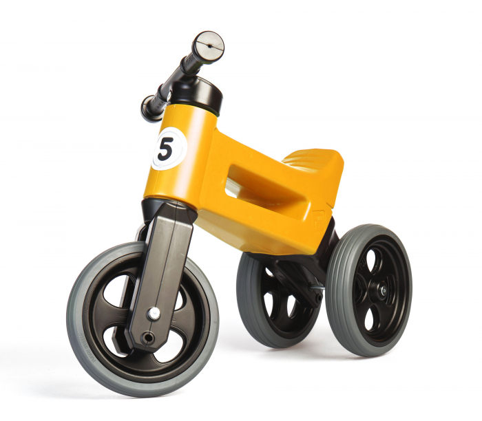 Bicicleta fara pedale Funny Wheels RIDER SPORT 2 in 1 Orange [0]