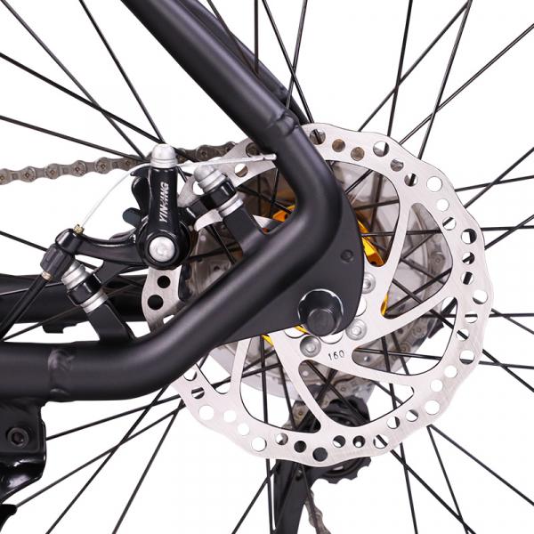 """Bicicleta MTB-HT Forever F26R7B, roata 26"""", cadru aluminiu, 27 viteze, culoare negru/rosu 4"""