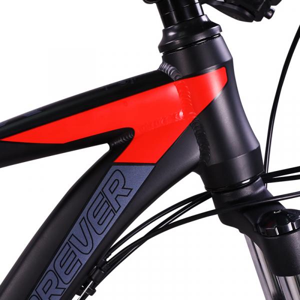 """Bicicleta MTB-HT Forever F26R7B, roata 26"""", cadru aluminiu, 27 viteze, culoare negru/rosu 2"""