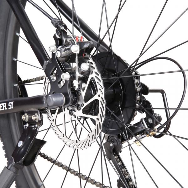 """Bicicleta MTB-HT Forever F26S1B, roata 26"""", cadru aluminiu, 27 viteze, culoare gri/alb 3"""