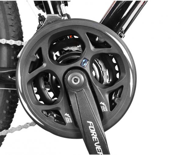 """Bicicleta MTB-HT Forever F27A9B, roata 27.5"""", cadru aluminiu, 27 viteze, culoare negru/rosu 3"""