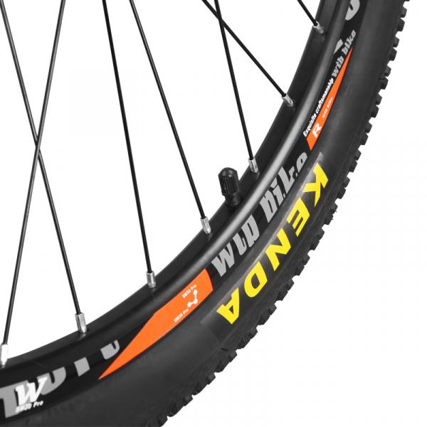 """Bicicleta MTB-HT Forever F27A9B, roata 27.5"""", cadru aluminiu, 27 viteze, culoare negru/rosu 6"""