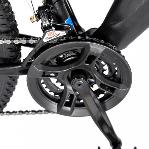 """Bicicleta munte, dubla suspensie, RICH R2750D, roata 27.5"""", frana disc, 18 viteze, negru/rosu 3"""