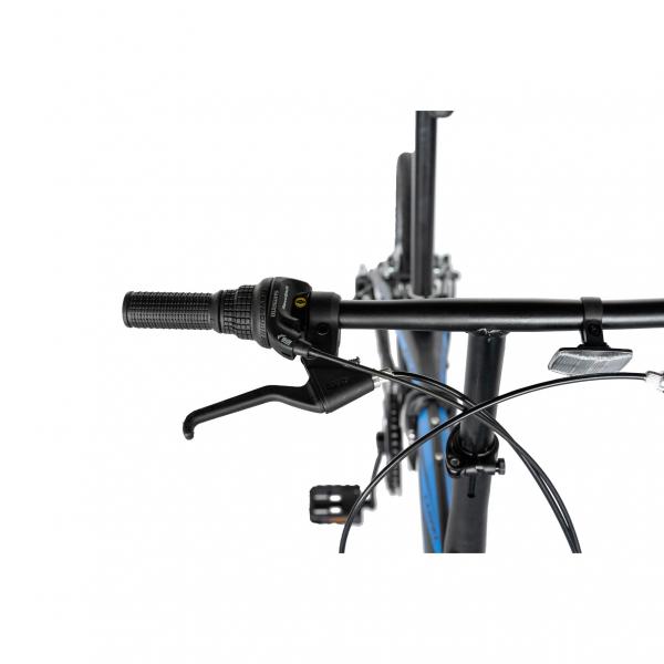 """Bicicleta pliabila 20"""" CARPAT C2052C, echipare SHIMANO 7 viteze, culoare negru/albastru 11"""