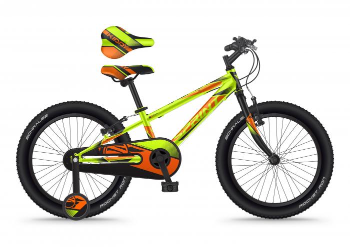 Bicicleta Sprint Casper 20 2021 1SPD Verde Neon Mat [0]