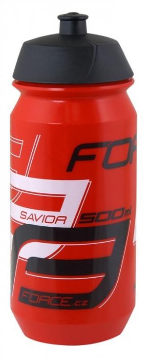 Bidon apa Force Savior 0.5l rosu/alb/negru [0]
