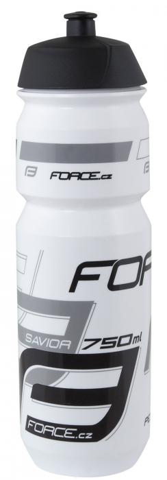 Bidon apa Force Savior 0.75l alb/gri/negru [0]