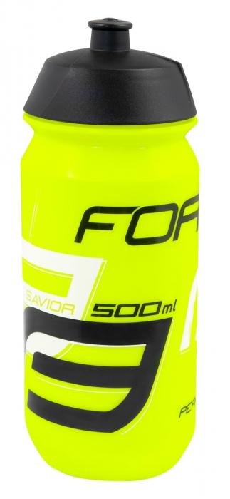 Bidon Force Savior 0.5l Fluo/Negru/Alb [0]