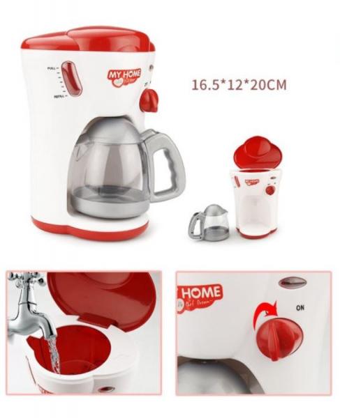 Cafetiera, jucarie pentru copii, cu functii, sunete si lumini 3