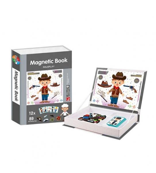 Carte magnetică educativă STEM, Role Play - Meserii 1