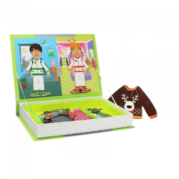 Carte magnetică Joc Educativ STEM, Fashion 1