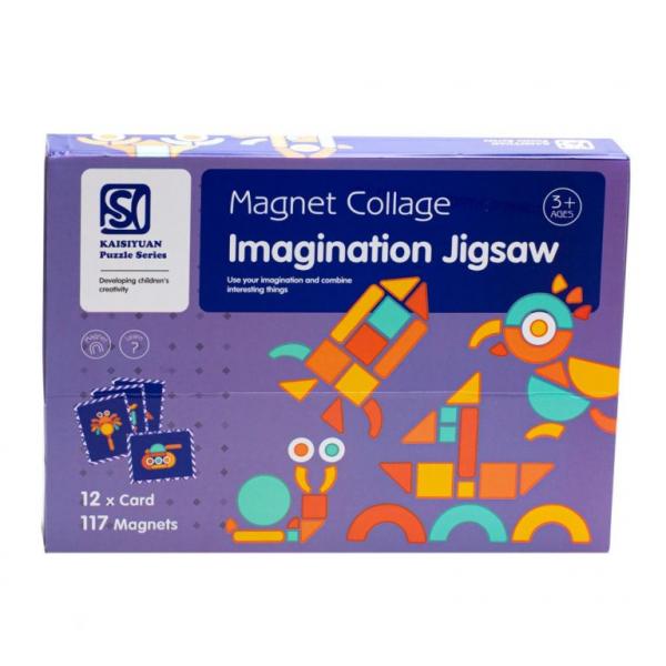 Carte magnetica Forme Geometrice Tangram Imagination 1