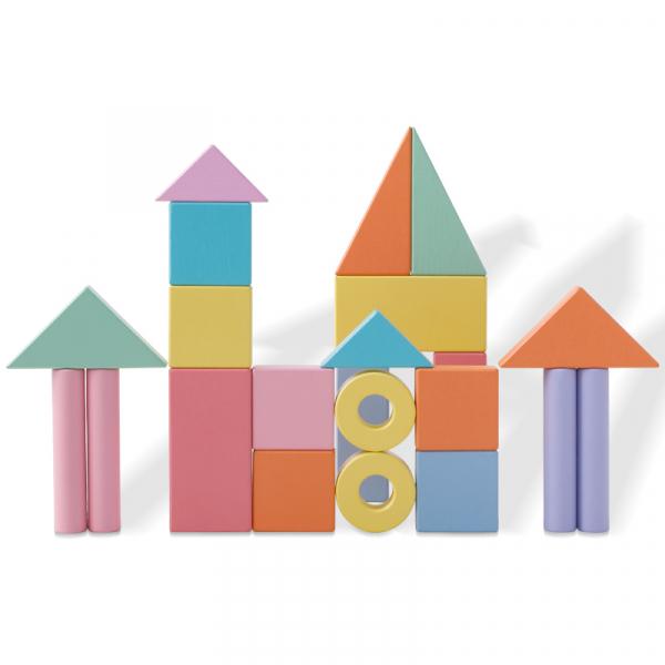 Cărucior cuburi lemn Block and Roll ONSHINE [5]