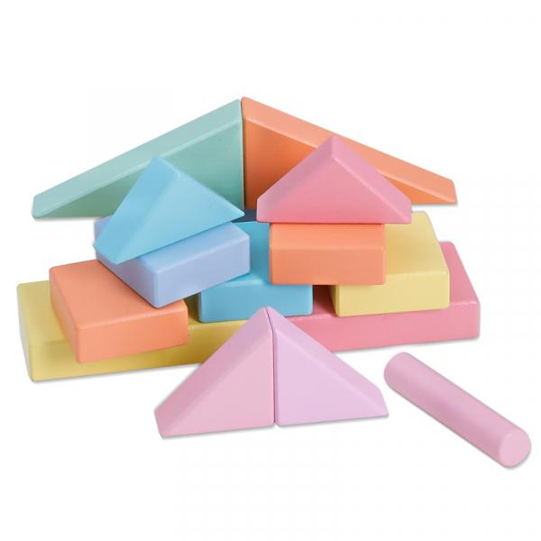 Cărucior cuburi lemn Block and Roll ONSHINE [6]