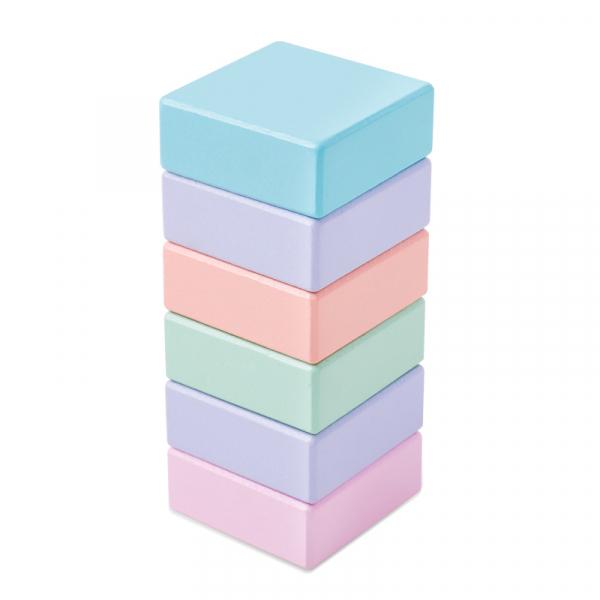Cărucior cuburi lemn Block and Roll ONSHINE [4]