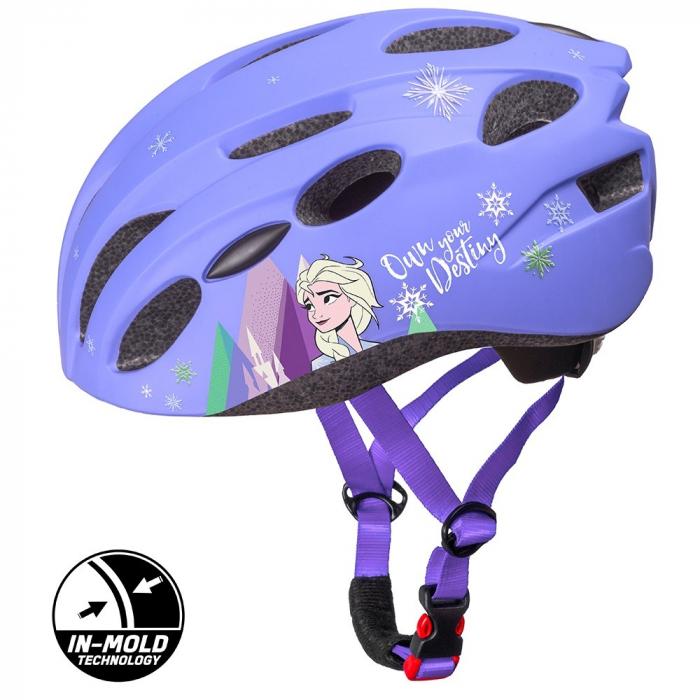 Casca copii Seven In Mold Bike Helmet Frozen 2, M (52-56 cm) [0]