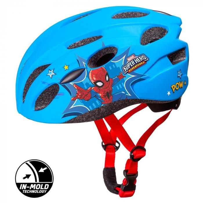 Casca copii Seven In Mold Bike Helmet Spiderman, M (52-56 cm) [0]