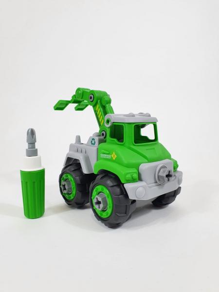 Mașină de gunoi, de construit DIY 2