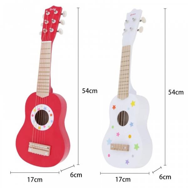 Chitară din lemn roșie Onshine 3