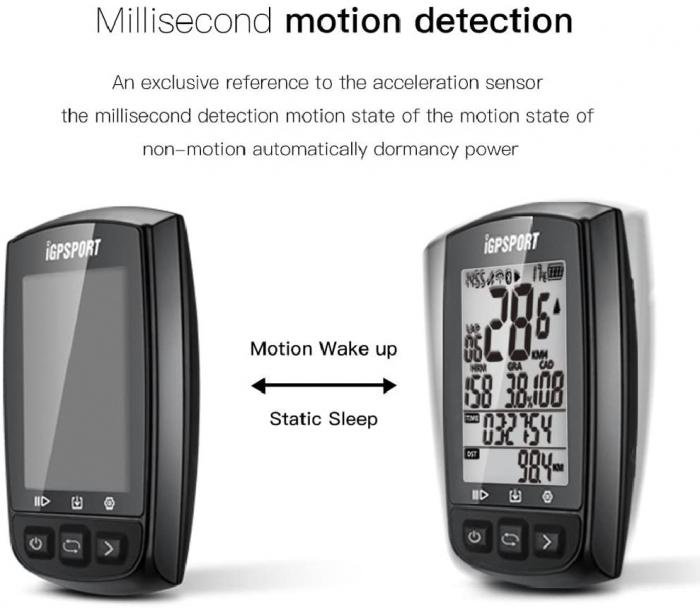 Ciclocomputer pentru bicicleta cu GPS, iGPSPORT iGS50E [3]