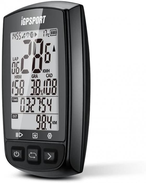 Ciclocomputer pentru bicicleta cu GPS, iGPSPORT iGS50E [2]