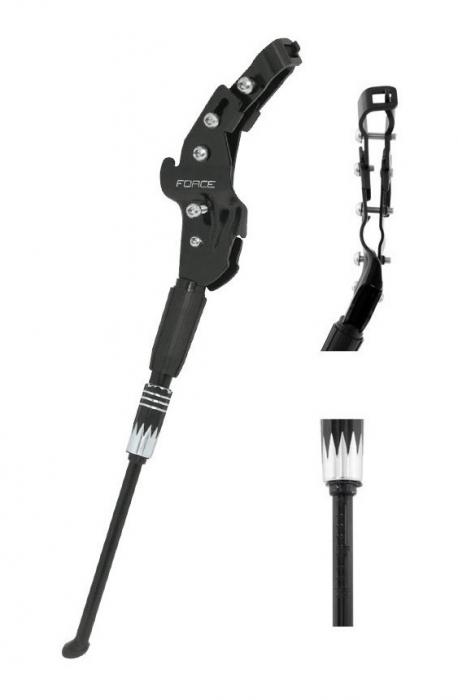 Cric bicicleta Force Mant 26-29 aluminiu negru [0]