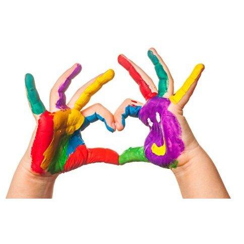 Vopsea pentru pictura cu degetele - MAXI [3]