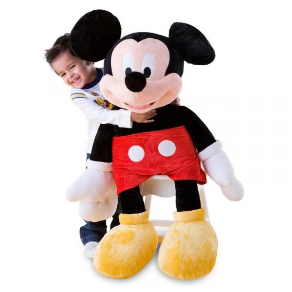 Figurină Gigant din pluș Mickey, 100 cm [0]