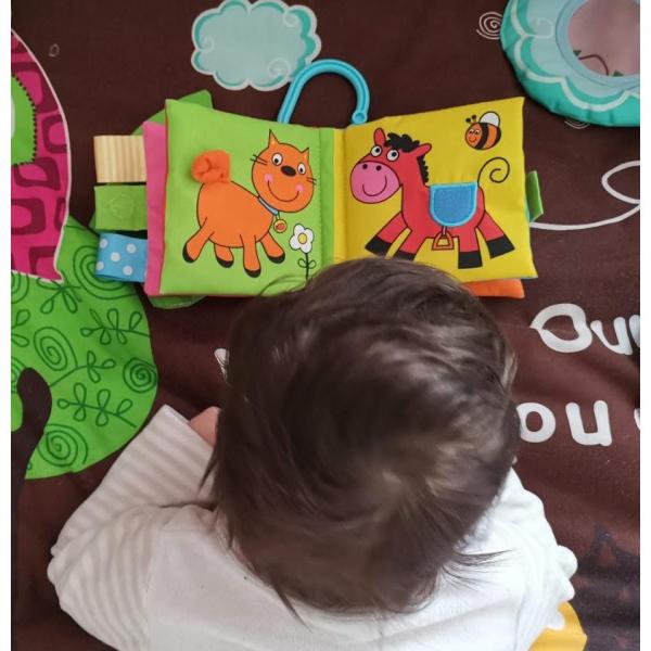 Soft Book: Cărticică moale Pets 1