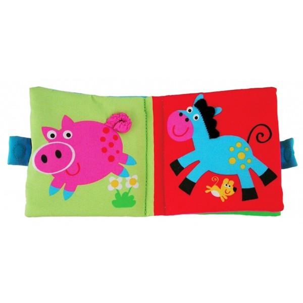 Soft Book: Cărticică moale Farm 1