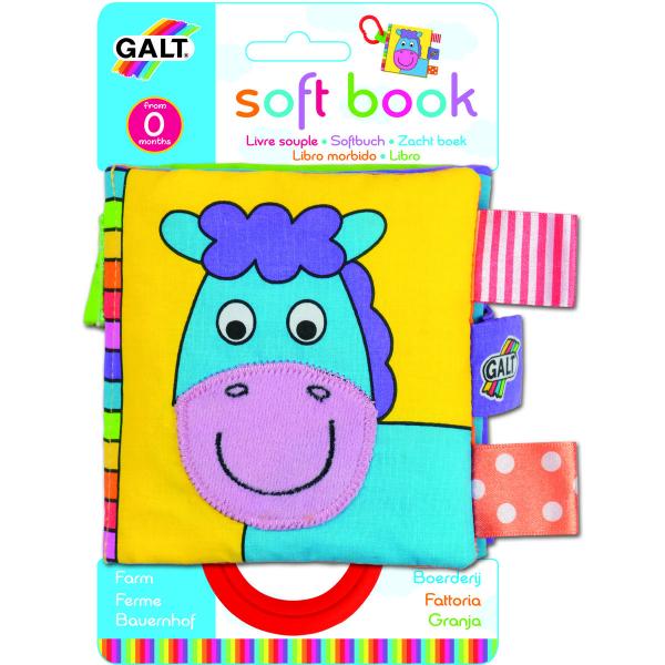 Soft Book: Cărticică moale Farm 0